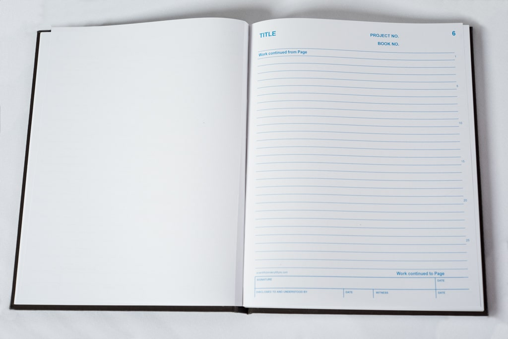 Duplicate Lined Notebook