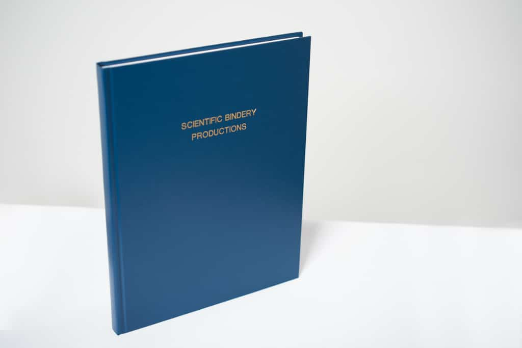 Personalized Engineering Notebook | Scientific Bindery Productions