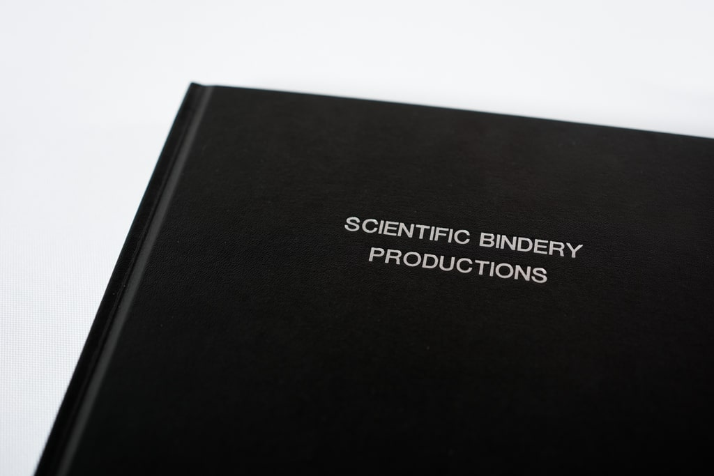 Personalized Scientific Notebook | Scientific Bindery Productions