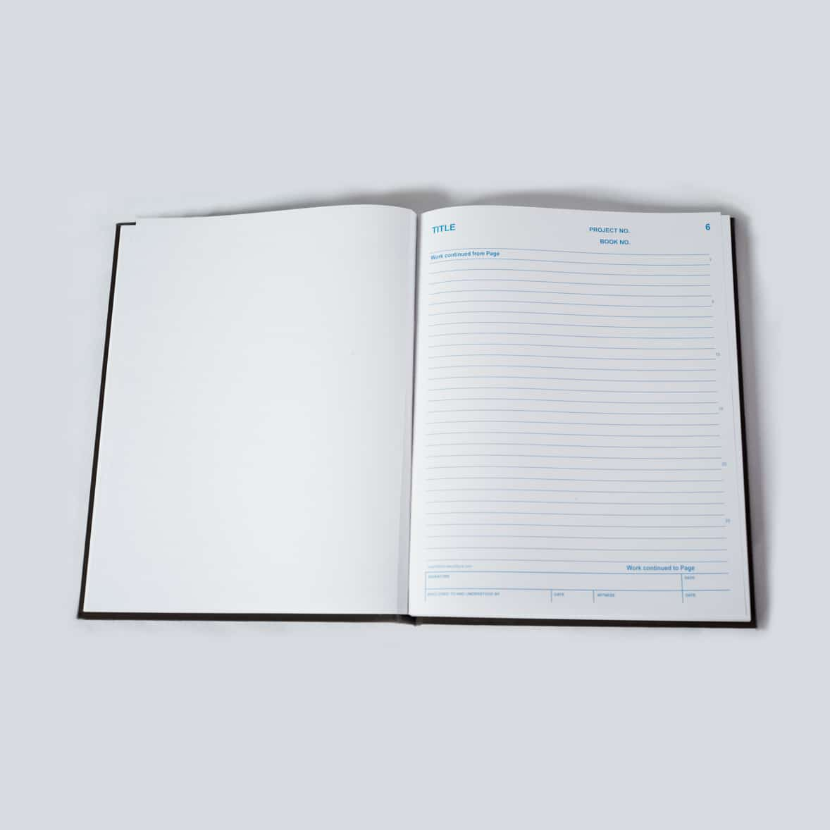 Duplicate Lined Research Notebooks, Duplicate Lined Laboratory Notebooks - Scientific Bindery