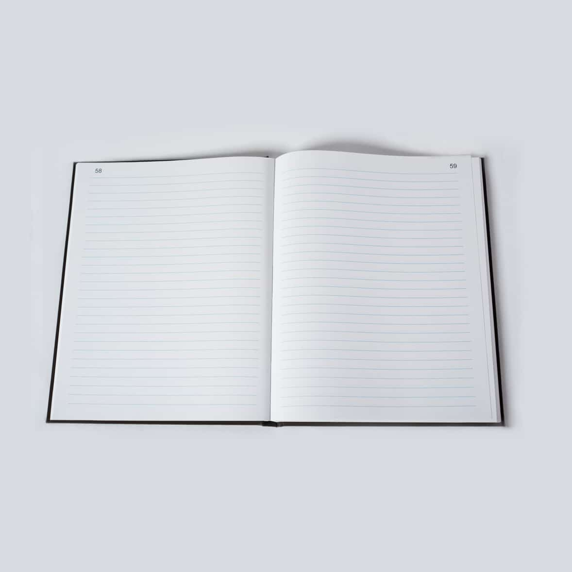 Plain Lined Laboratory Notebook - Scientific Bindery