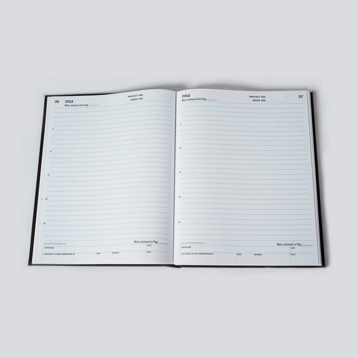 Lined Laboratory Notebooks - Scientific Bindery